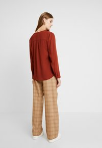 b.young - HIALICE - Button-down blouse - dark copper - 2