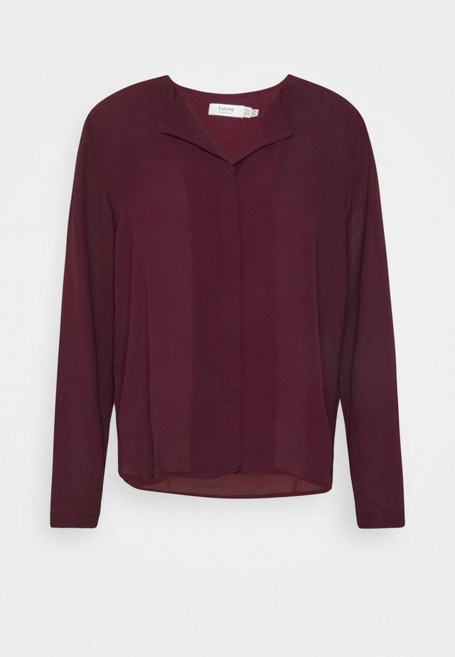 HIALICE - Button-down blouse - winetasting
