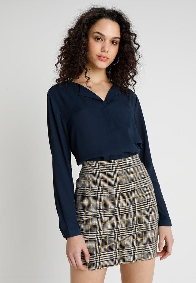 HIALICE - Button-down blouse - copenhagen night