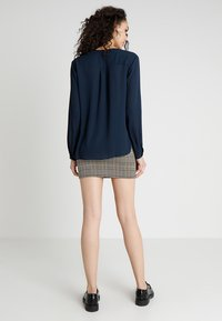 b.young - HIALICE - Button-down blouse - copenhagen night - 2