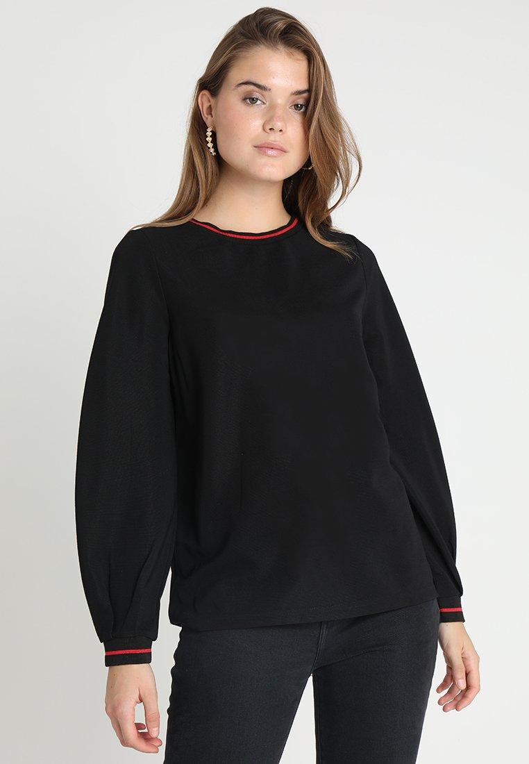 b.young - SINDY - T-shirt à manches longues - black