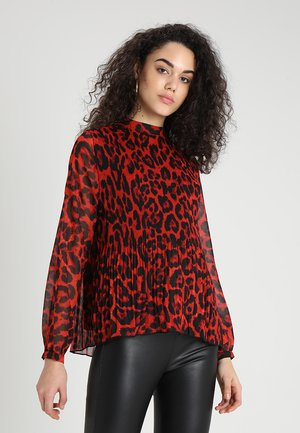 BLOUSE - Blus - red combi