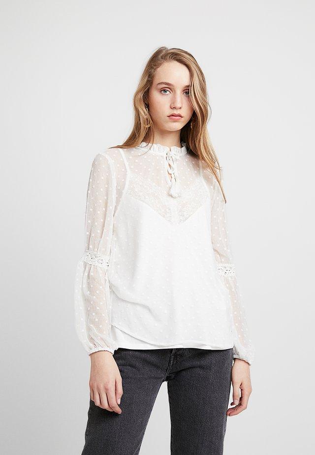 HEIDI BLOUSE - Bluse - off white