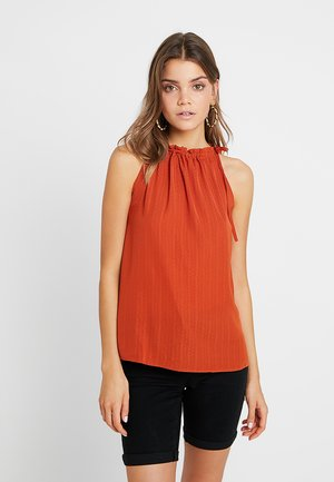 BOW - Blouse - metallic red