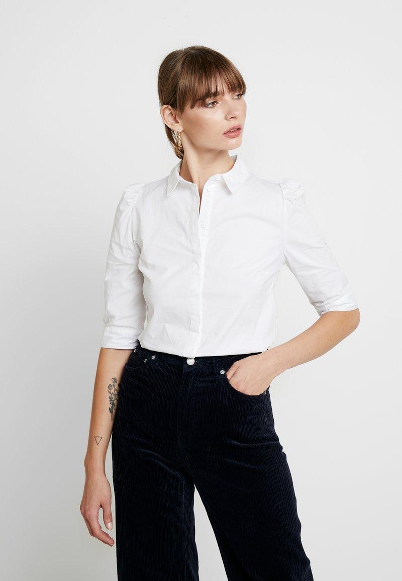 b.young - BXJAMILLA - Button-down blouse - optical white