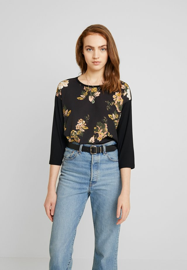 PANYA BLOUSE - Blouse - black