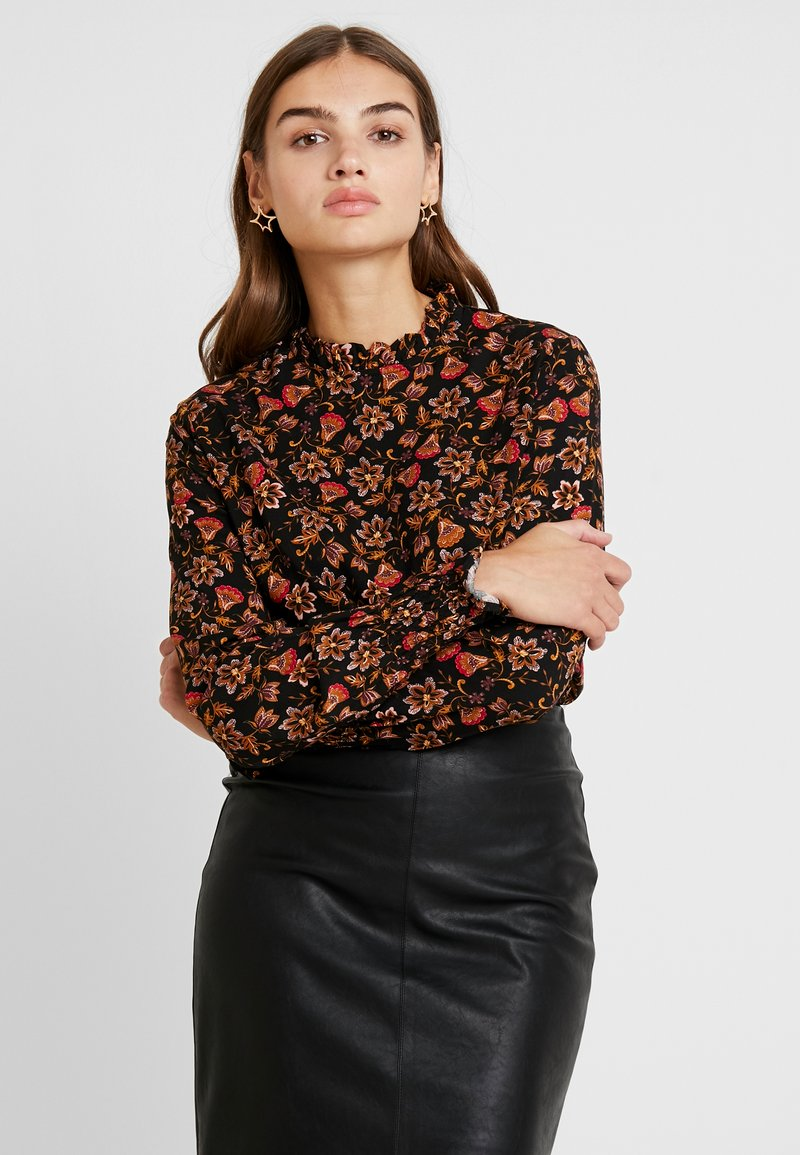 b.young - BYGITTEN BLOUSE - Bluser - carnelian red combi