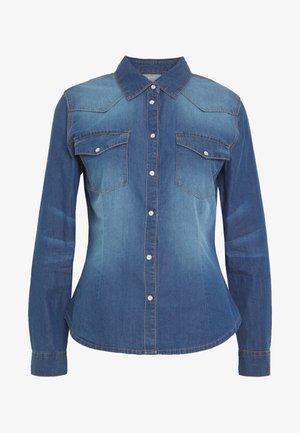 BYDENNI WESTERN - Skjorte - med blue denim