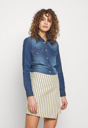 BYDENNI WESTERN - Overhemdblouse - med blue denim