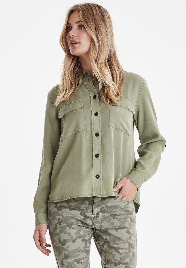 Button-down blouse - sea green