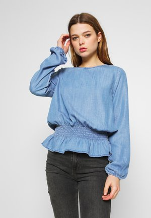 BYLANA - Blouse - medium blue denim