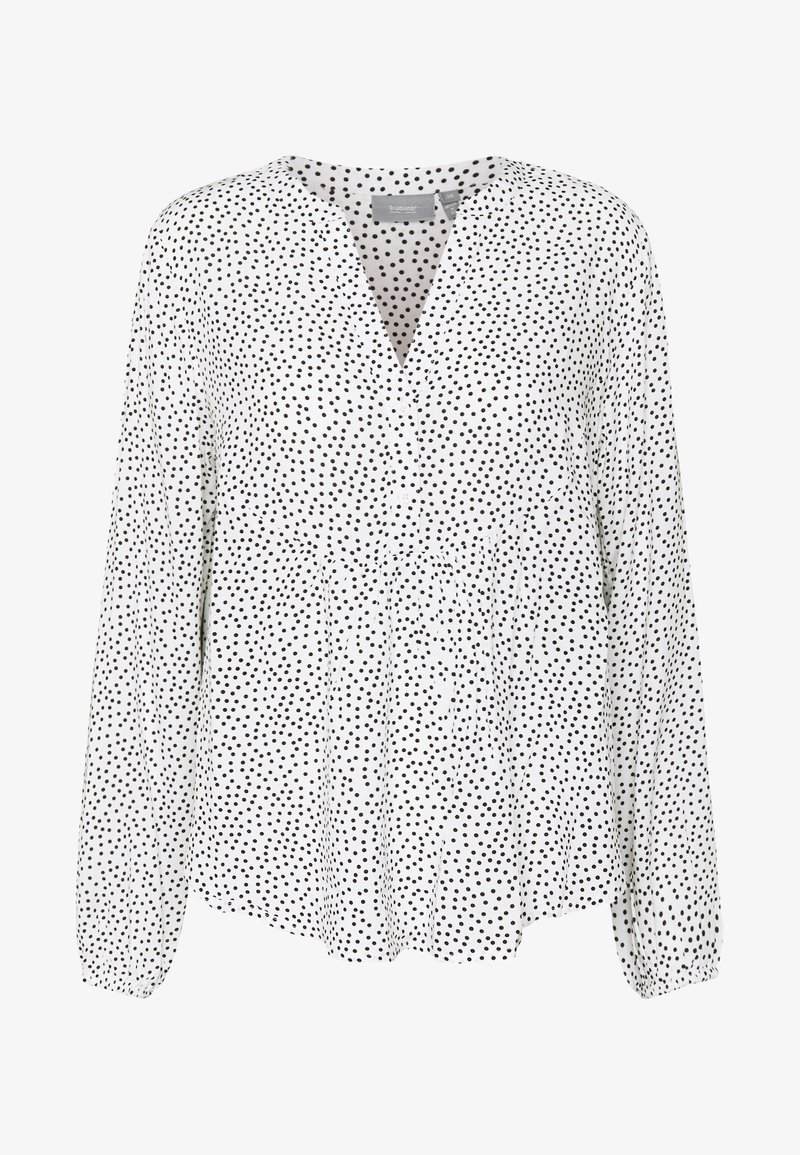 b.young BYISOLE V NECK BLOUSE - Bluser - off white