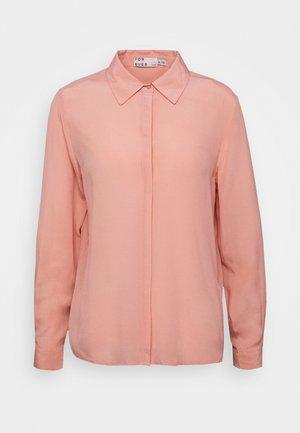 BYISJA - Button-down blouse - coral