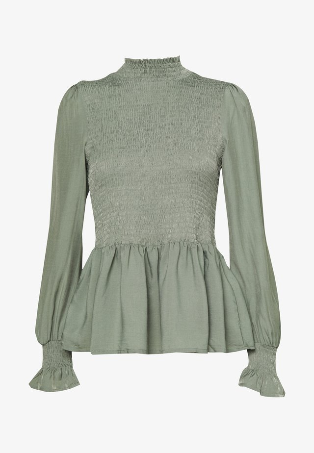 BLOUSE - Blus - sea green