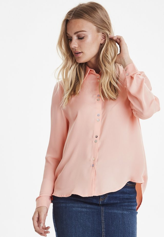 BYGALIOT - Button-down blouse - coral