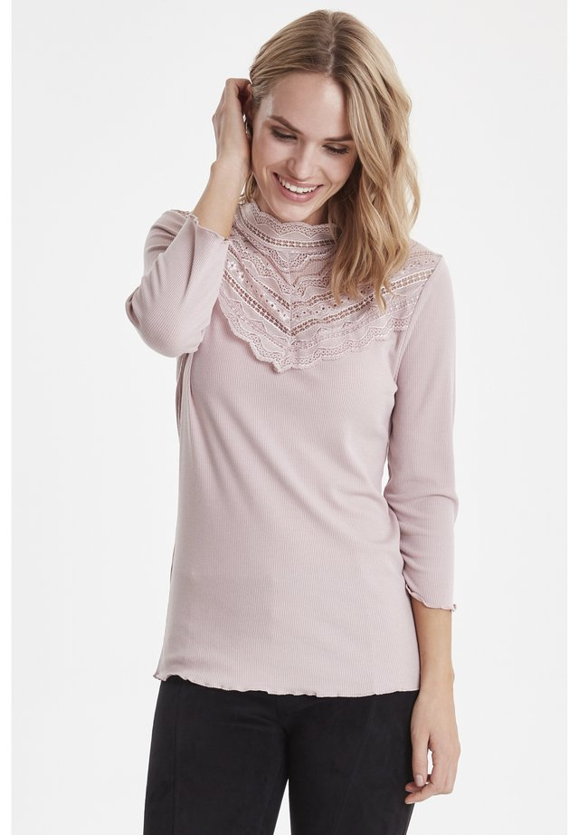 B.YOUNG BYTOELLA LACE TSHIRT 2 - JERSEY - Jumper - rose cloud