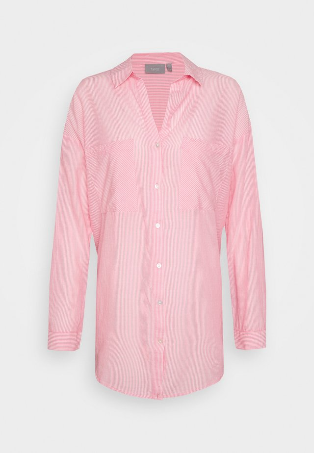 BYFIE - Button-down blouse - sorbet pink