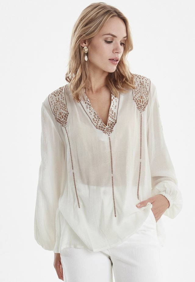 BYIZABEL - Blus - off white