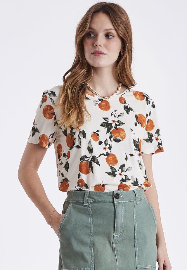 BYRILLO  - T-shirts print - orange