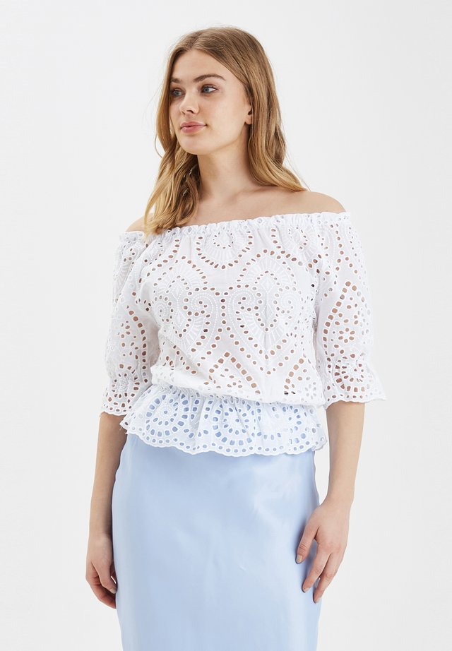 B.YOUNG BYFILIA TOP - LIGHT WOVEN - Blouse - optical white