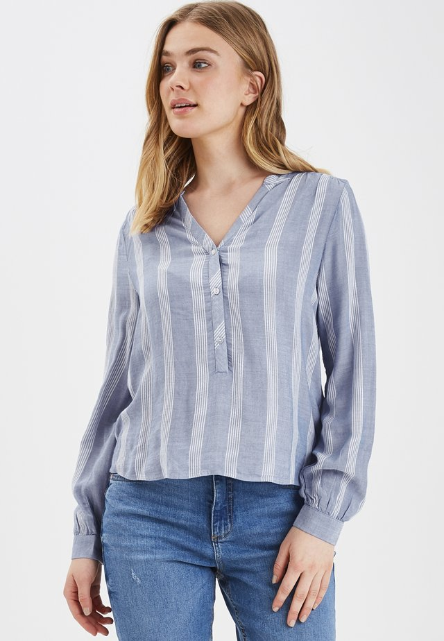 B.YOUNG BYIVY SHIRT - LIGHT WOVEN - Blouse - sky blue