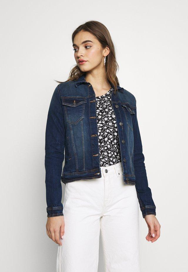 PULLY JACKET - Denim jacket - dark blue
