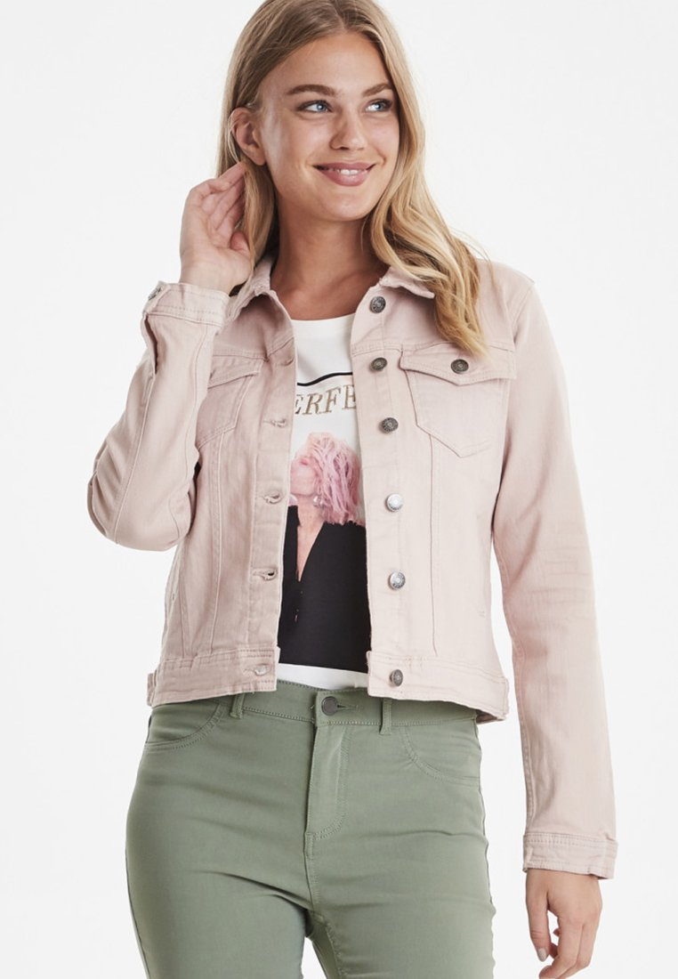 b.young - PULLY - Jeansjacke - rose cloud
