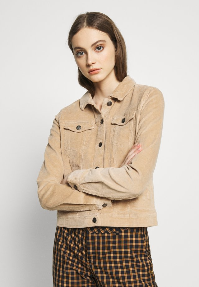 BYELLA JACKET  - Summer jacket - camel