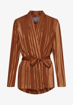 BYHELOUISE - Blazer - dark copper