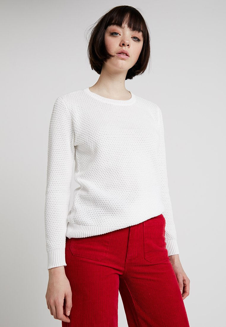 b.young - MIKALA STRUCTURE JUMPER - Jumper - off white