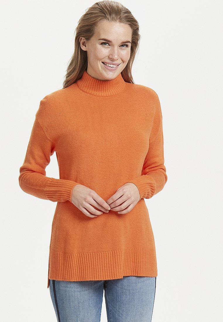 b.young - MALEA  - Strickpullover -  orange