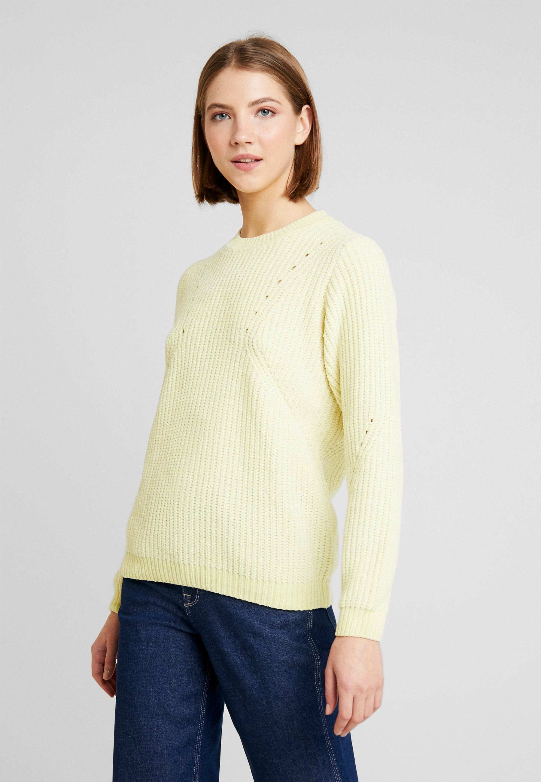 BYMONA JUMPERStrickpullover young b french vanilla MVSzpqU