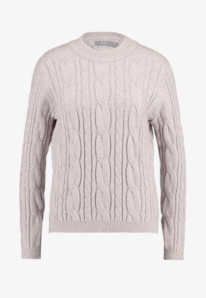 BYMILO CABEL JUMPER  - Stickad tröja - mushroom
