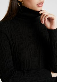 b.young - BYNANKA ROLLNECK JUMPER - Jumper - black - 4