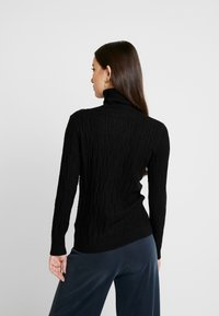 b.young - BYNANKA ROLLNECK JUMPER - Jumper - black - 2