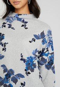 b.young - BYPIETA - Stickad tröja - melange med grey combi - 4