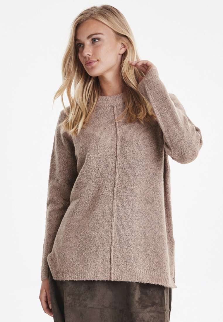 b.young - BYMIRELLE - Strickpullover - mottled light pink