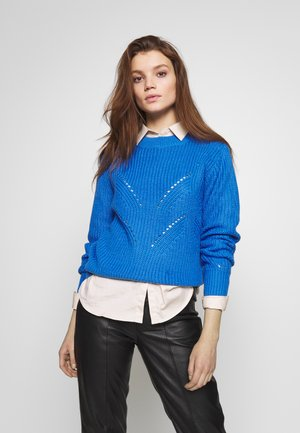 BYMELISSA PATTERN JUMPER - Trui - regatta blue