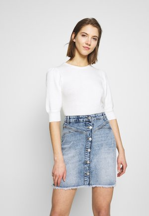 BYMALINDA PUFF JUMPER - Trui - off white