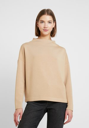 BYPUSTI NECK - Long sleeved top - camel