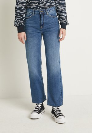 WIDE JEANS  - Jeans relaxed fit - med. blue denim