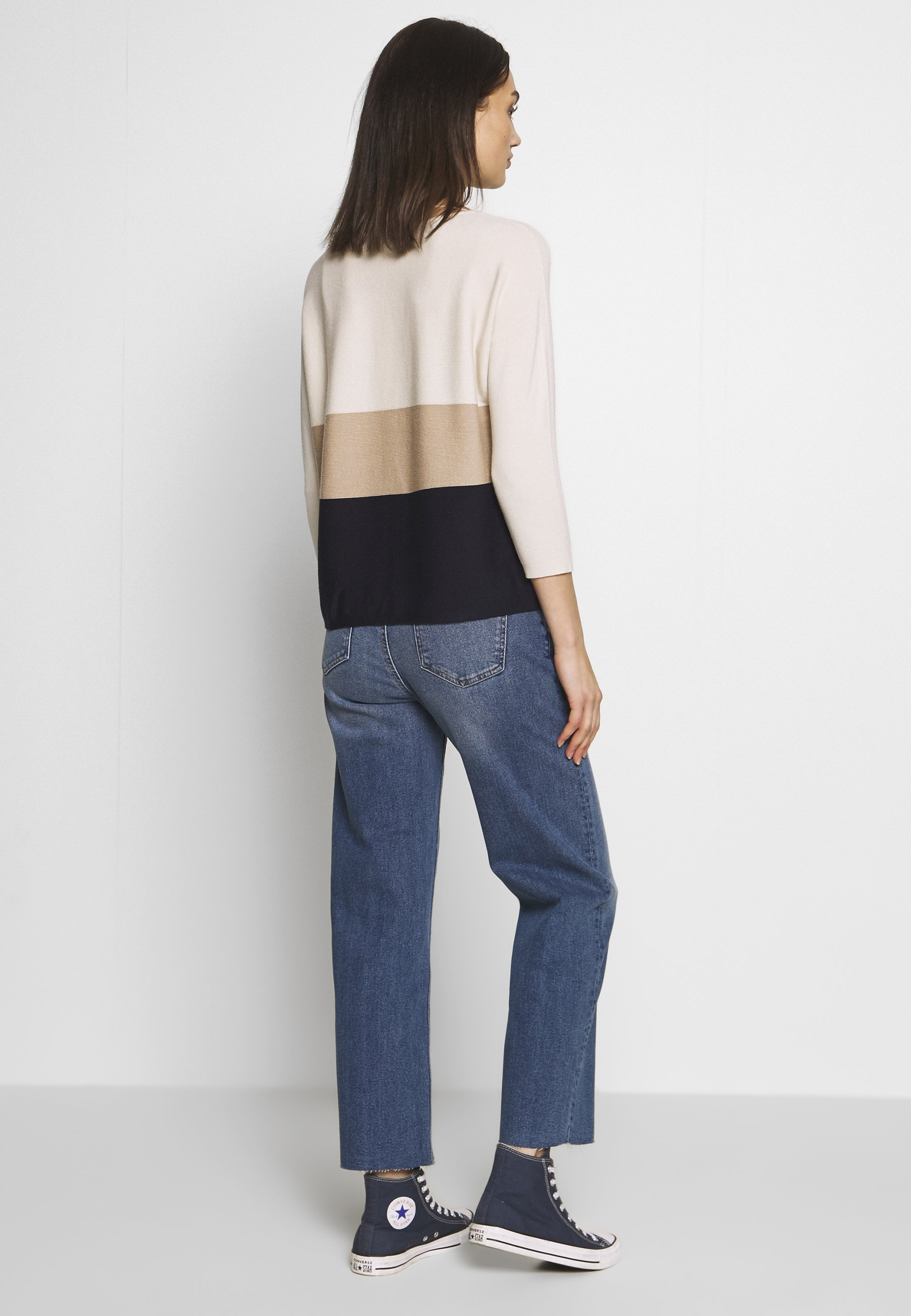 b.young WIDE JEANS  - Jeansy Relaxed Fit - med. blue denim