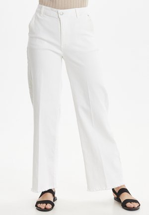 Flared jeans - marshmallow