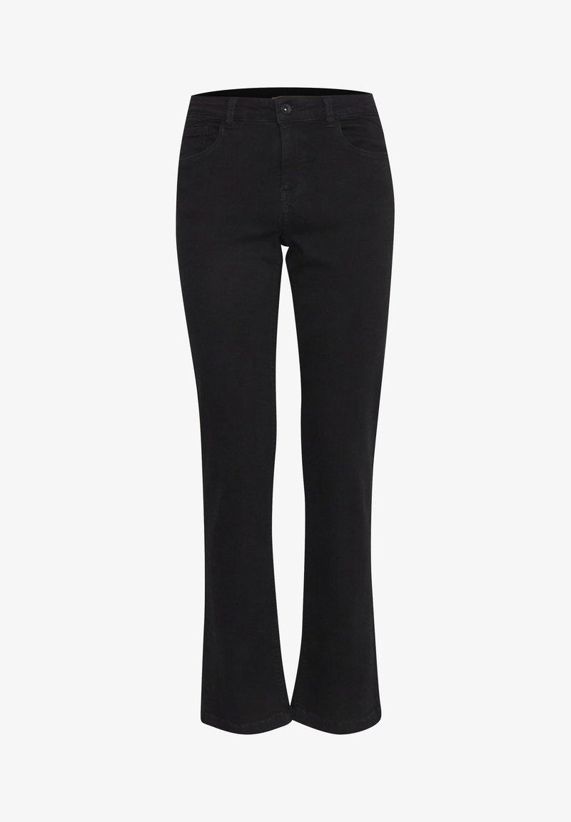 b.young - BYLOLA BYLUNI  - Jeans bootcut - black