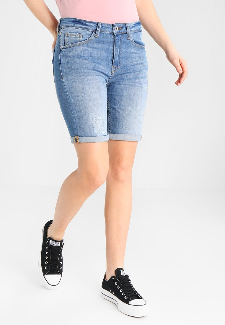 b.young - KATO LUXE - Jeansshorts - blue denim
