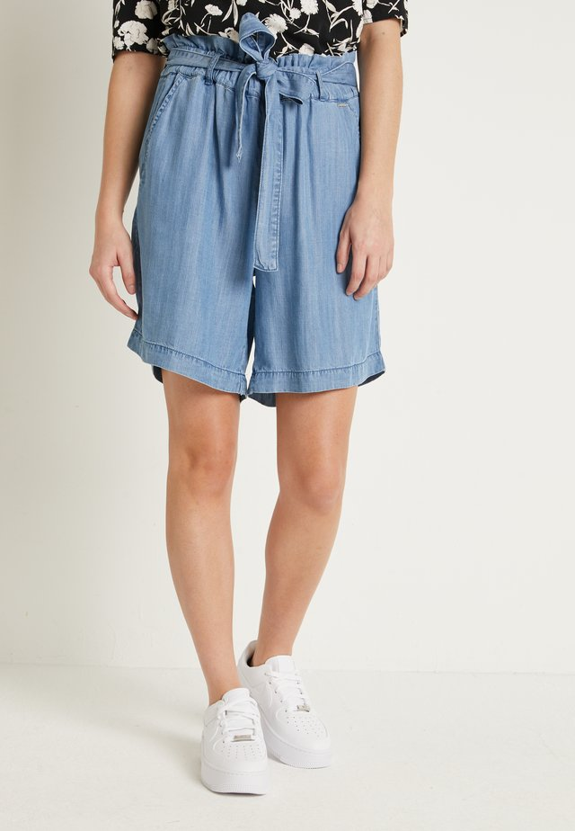 BYLANA - Shorts - medium blue denim
