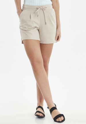 RIZETTA SHORTS - Szorty - beige