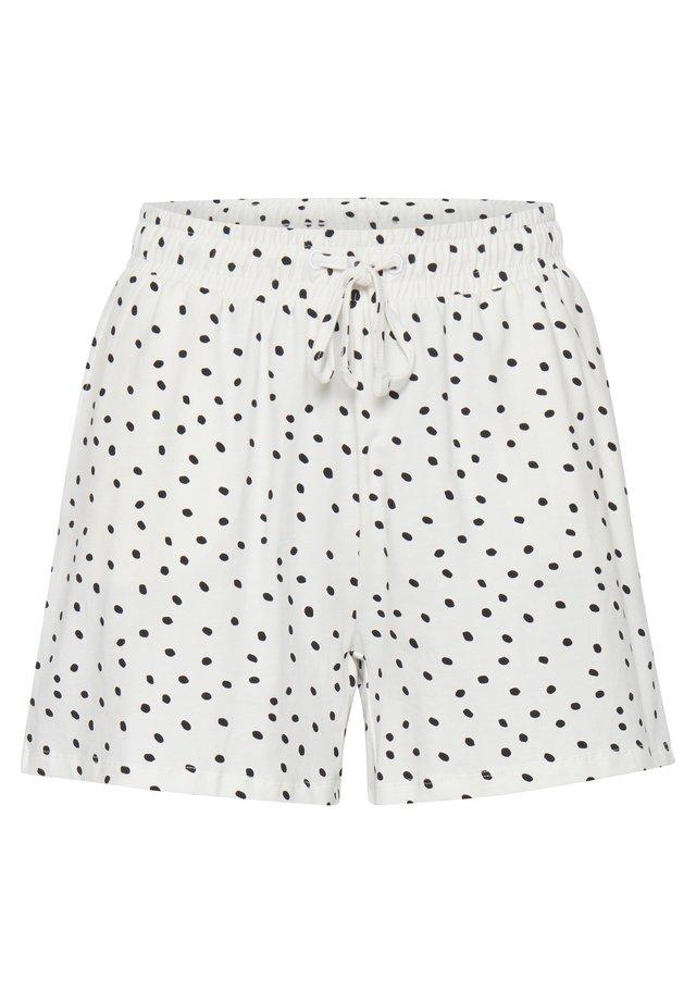 BYPANDINA - Shorts - off white dot combi 1