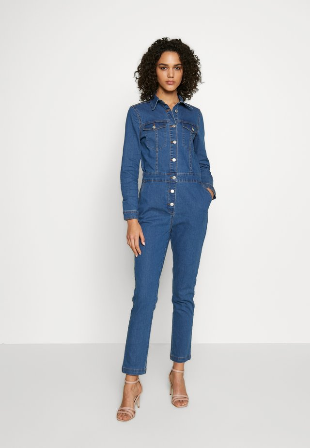 BYLIKA BOILERSUIT  - Jumpsuit - blue denim