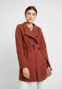 b.young - CIRLINE JACKET BELT - Zimní kabát - dark copper - 0